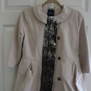 Gryphon Beige Trench Coat